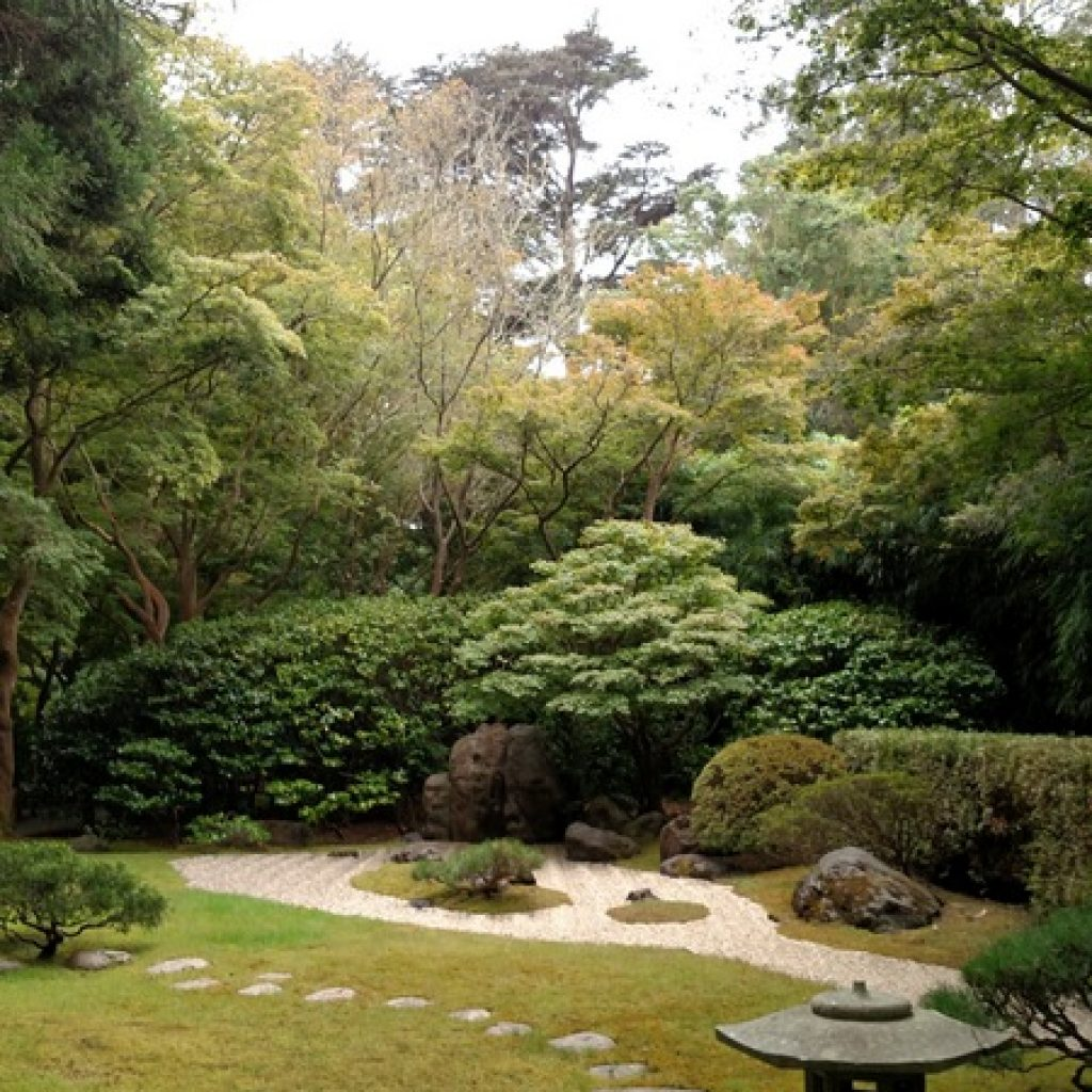 San Francisco Japanese Tea Gardens Zen Garden