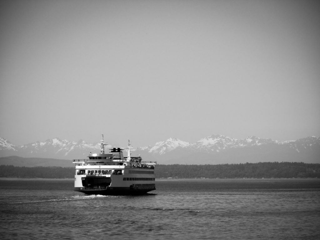 Getting to Seattle, the Ferry