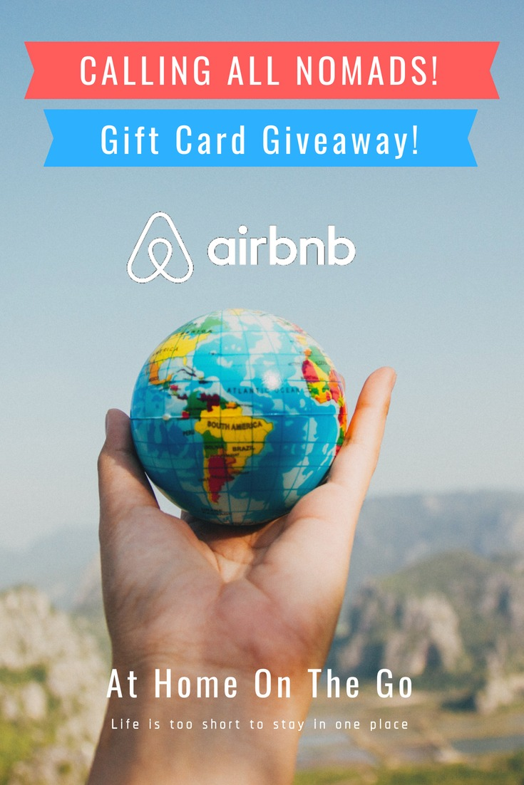 Airbnb Gift Card Giveaway